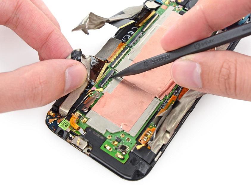 Ремонт системной платы телефона своими руками 31